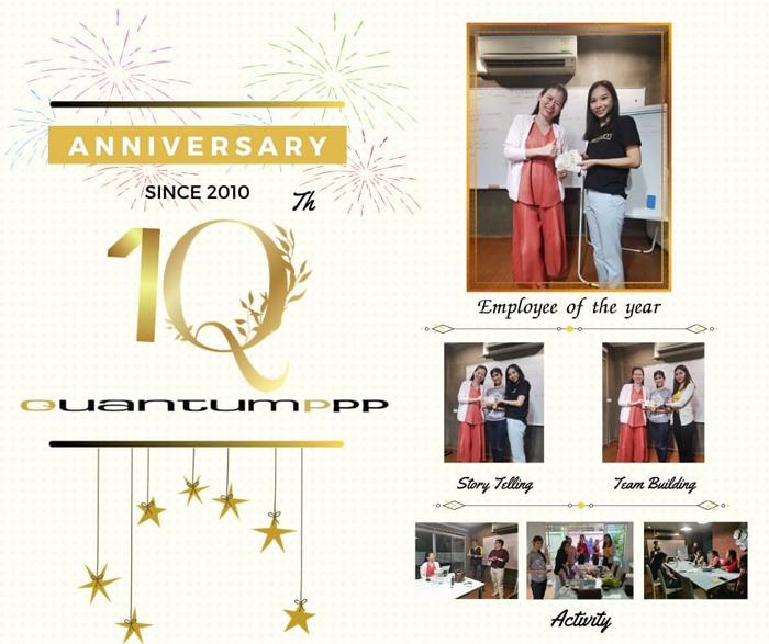 10th Anniversary Activities